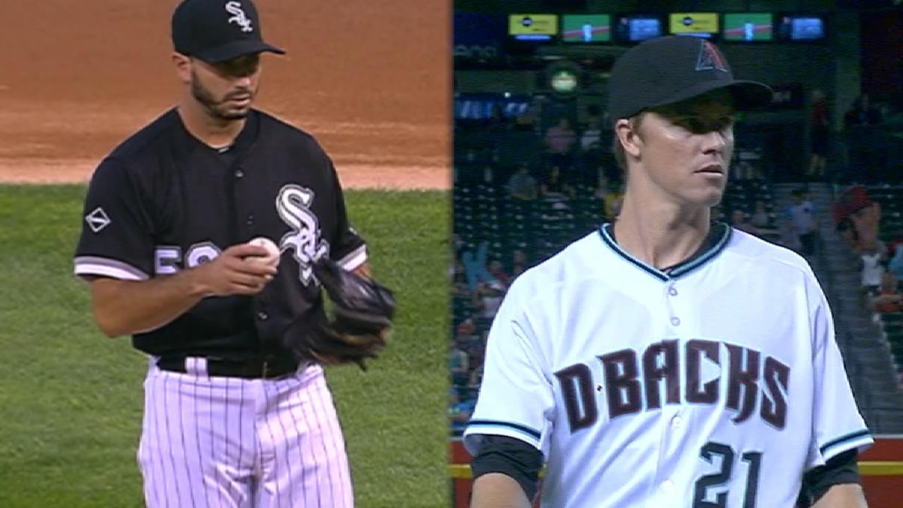 Greinke rolls into clash with White Sox