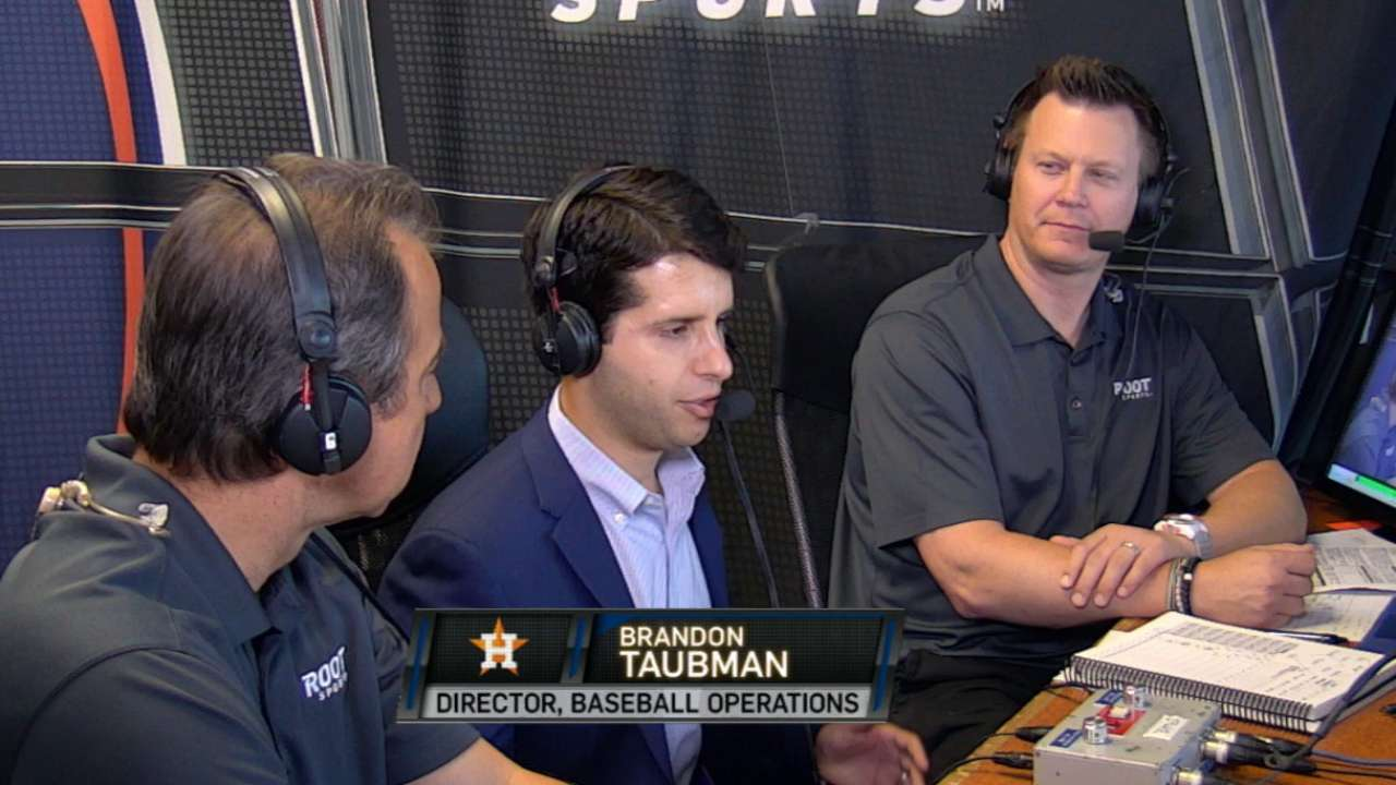 Statcast a valuable piece in Astros' toolbox
