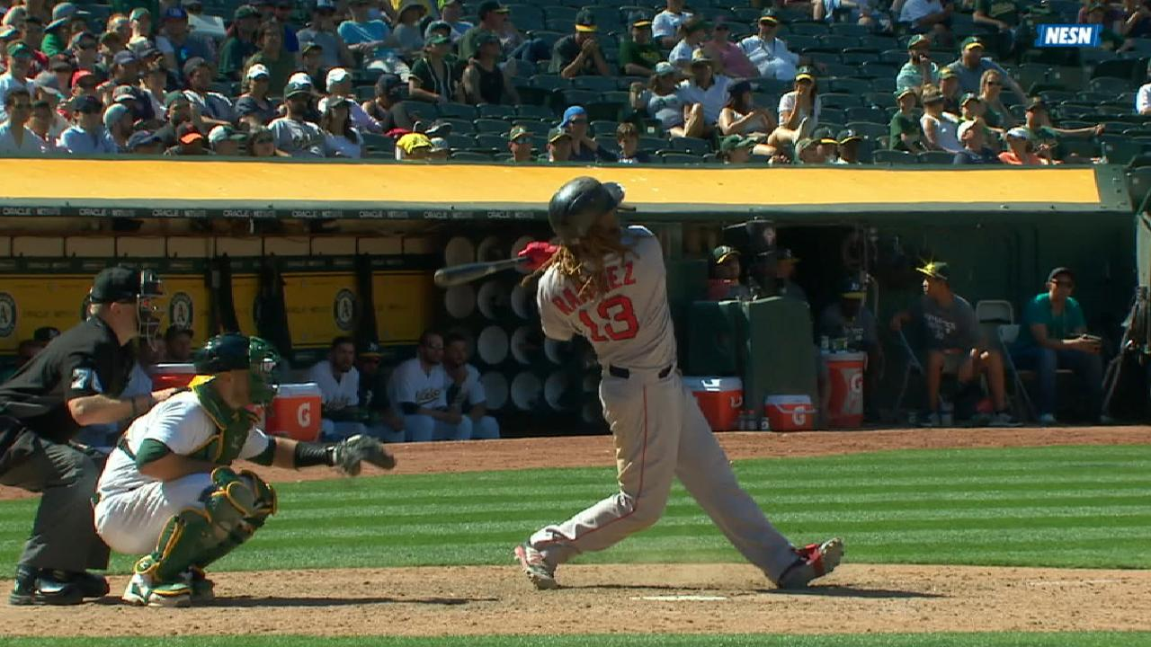 Red Sox's five-run 9th