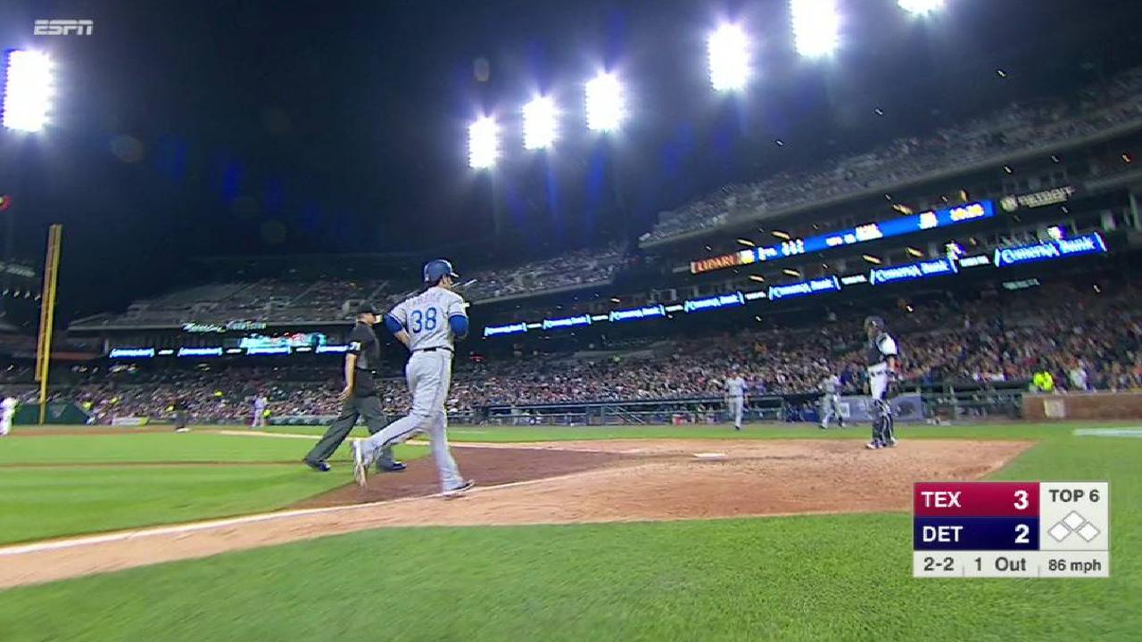 Kozma's solo home run