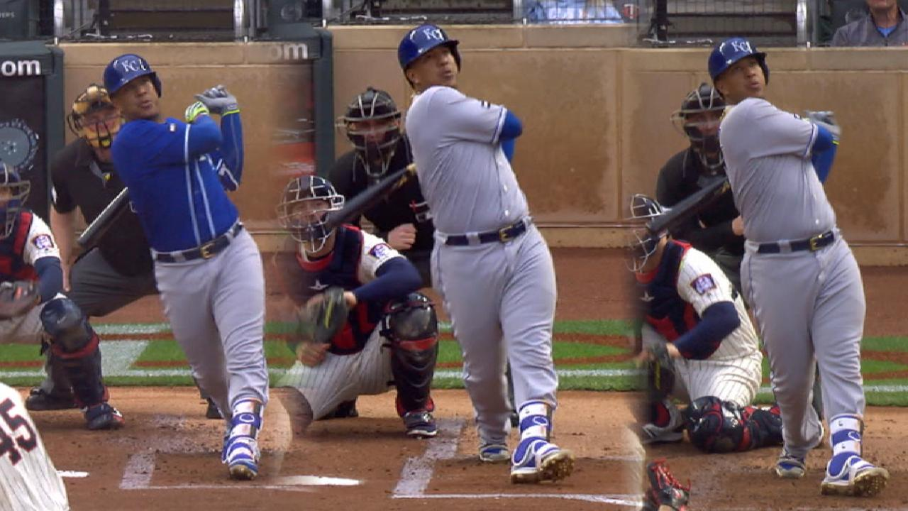 Salvy on Target with 3 HRs in doubleheader
