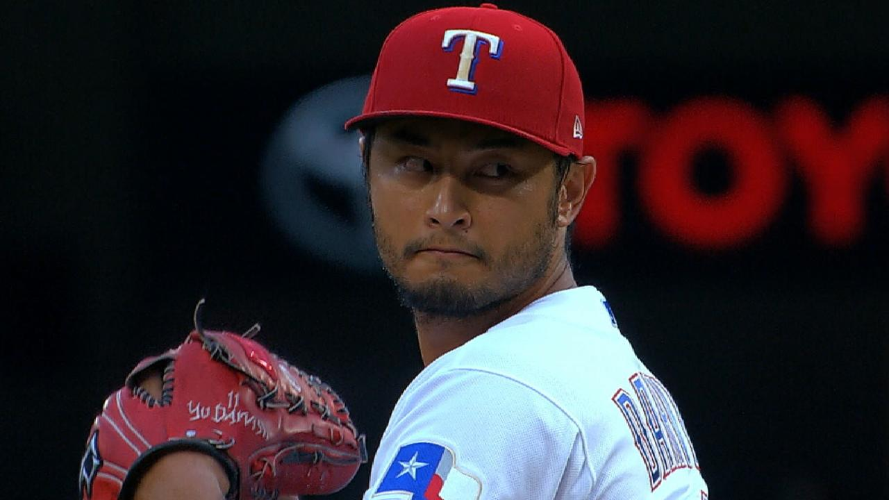 Darvish adding to deep pitch repertoire