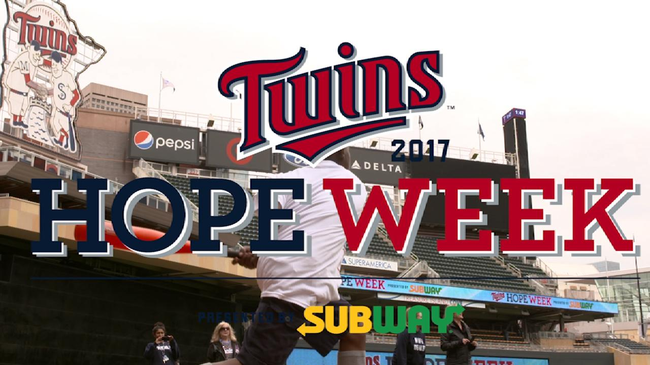 Twins have team-wide commitment to charity