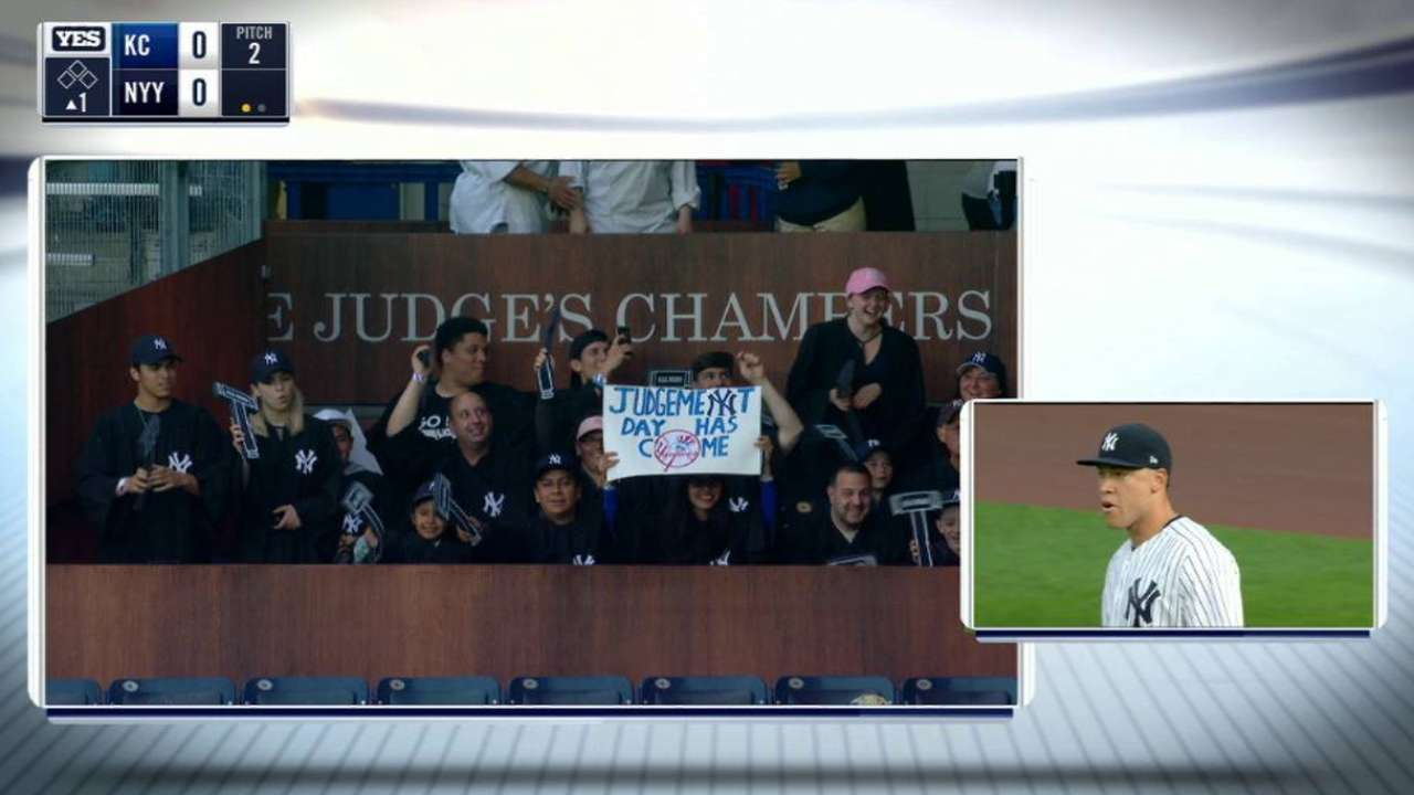 Yankees confident Judge can handle hype