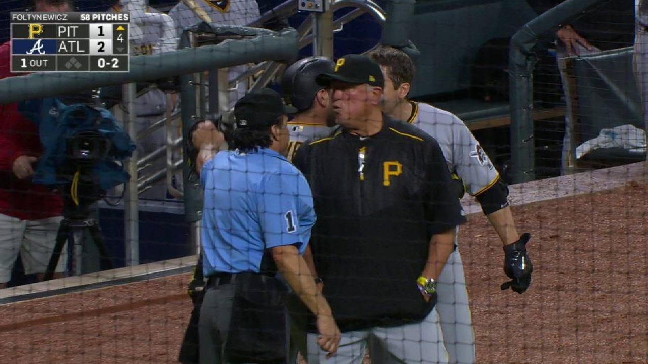 Freese, Hurdle ejected