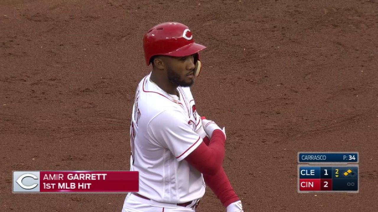 Garrett's RBI double