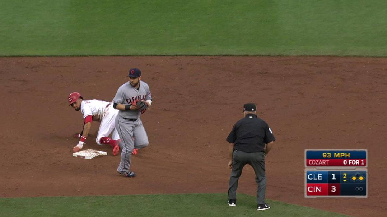 Gomes catches Hamilton stealing