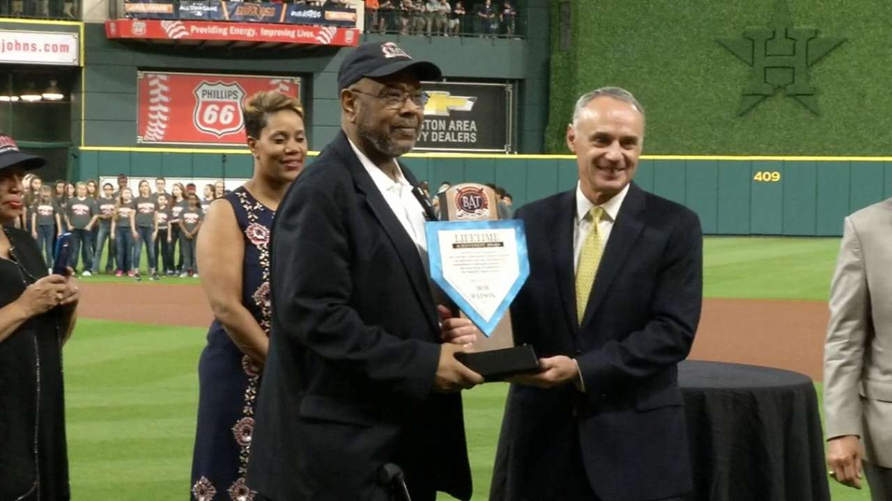 Watson receives BAT Lifetime Achievement Award