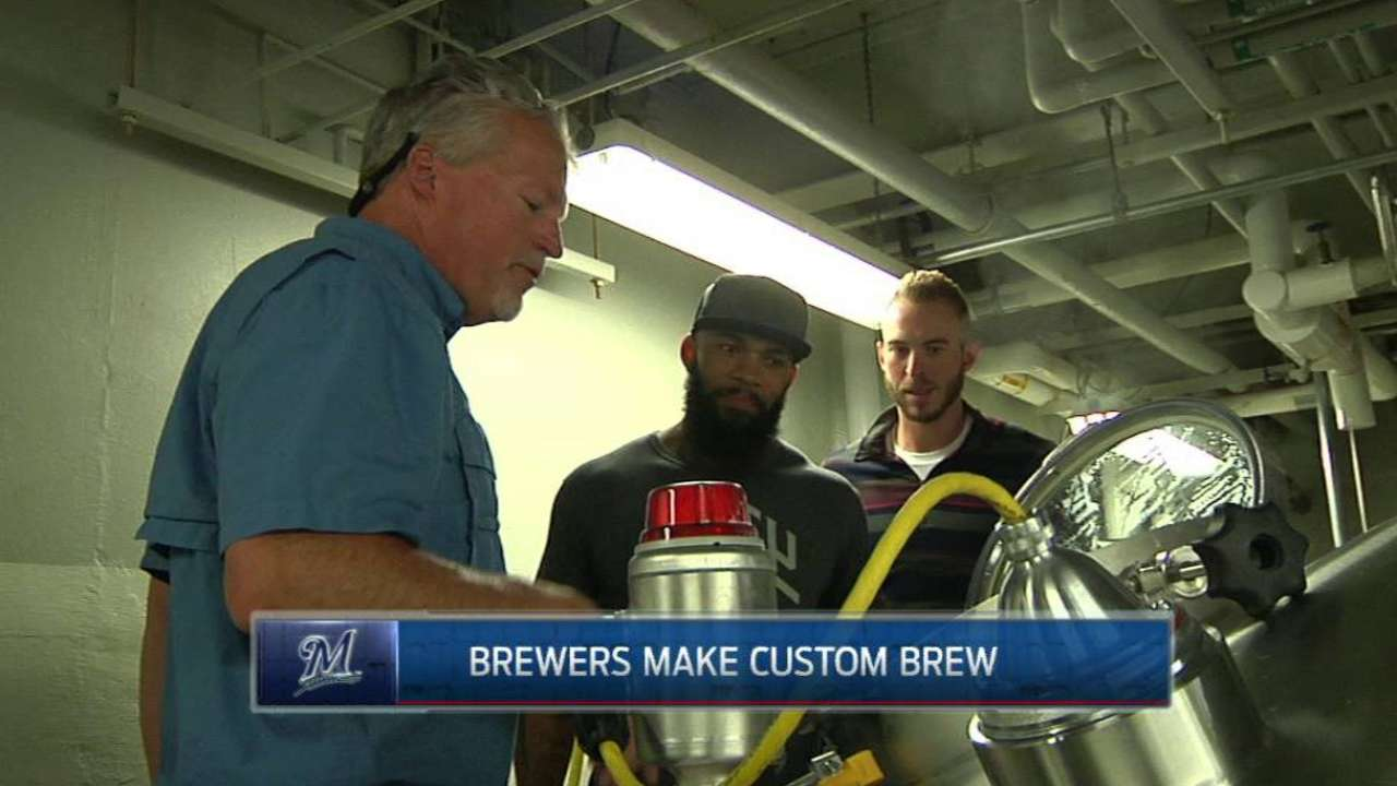 Crew trio becomes brewers during off-day