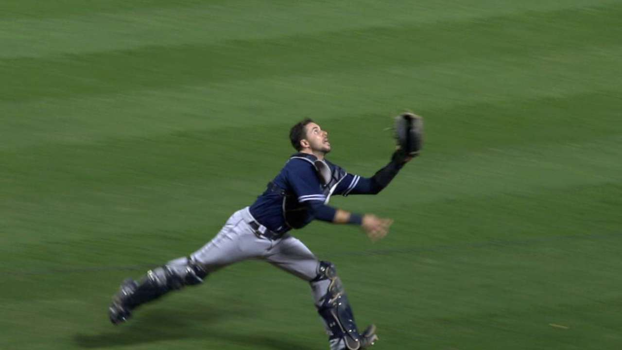 Hedges' outstanding catch