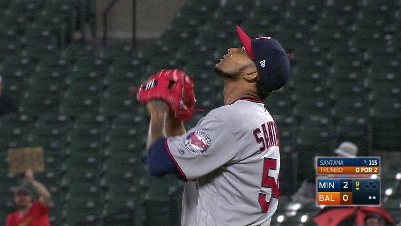 Ervin lanzó blanqueada de dos hits contra los Orioles