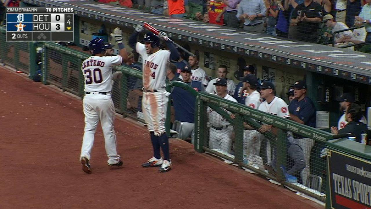 Astros roll behind McCullers, Centeno's debut