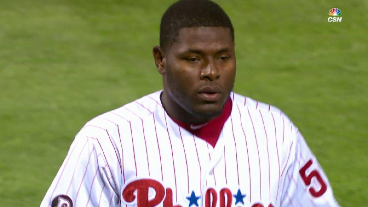 Neris strikes out the side