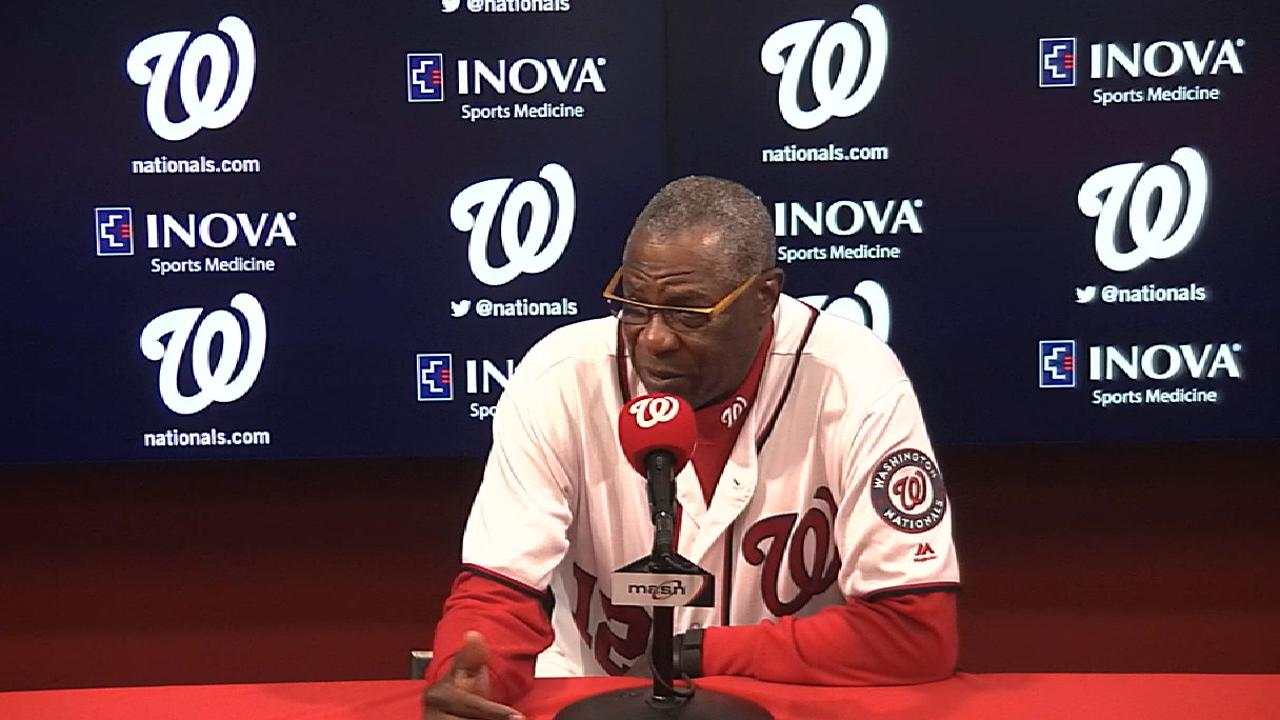 Baker on Ross, Rendon after win