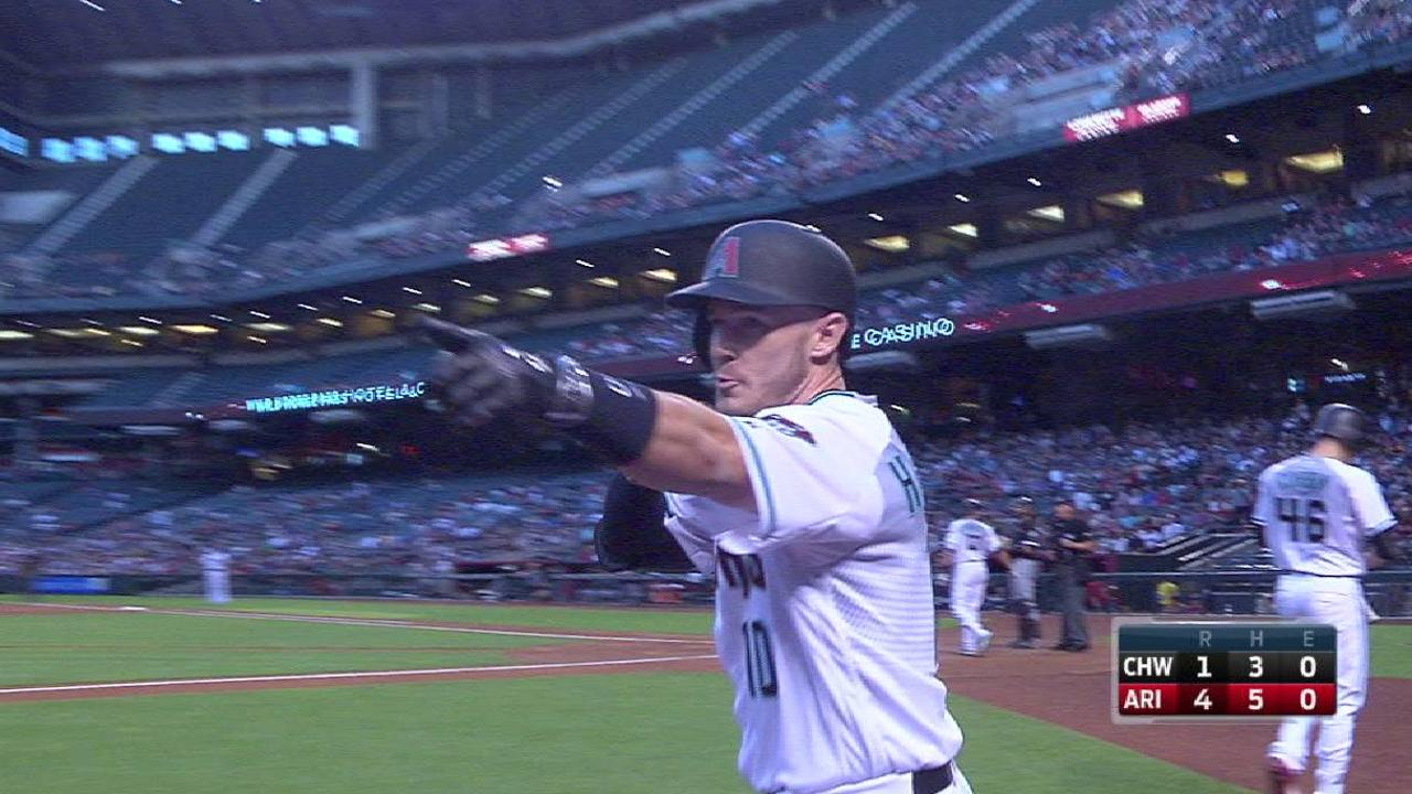Herrmann heating up? Catcher homers again