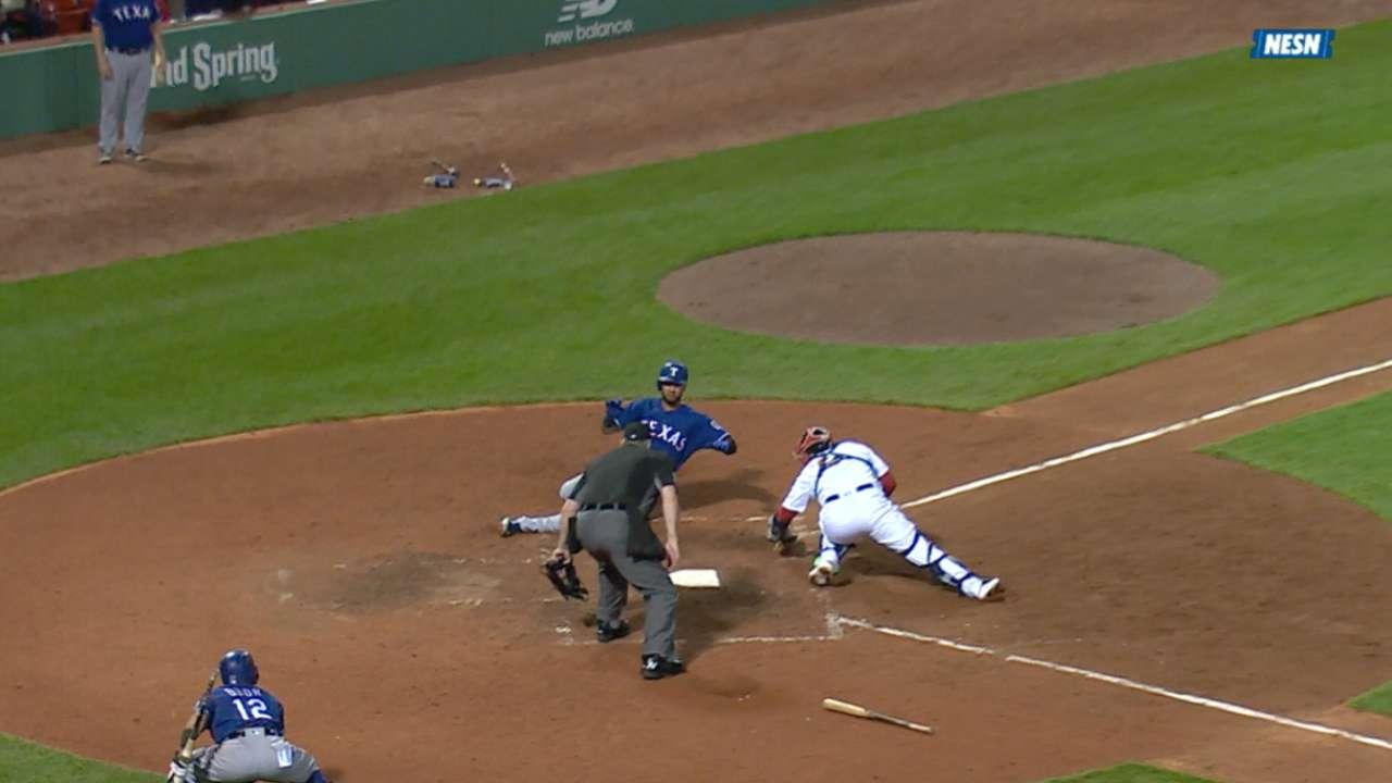 Red Sox nab Mazara at the plate