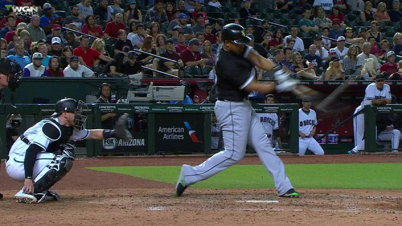 Keeping it 100: Abreu hits milestone homer