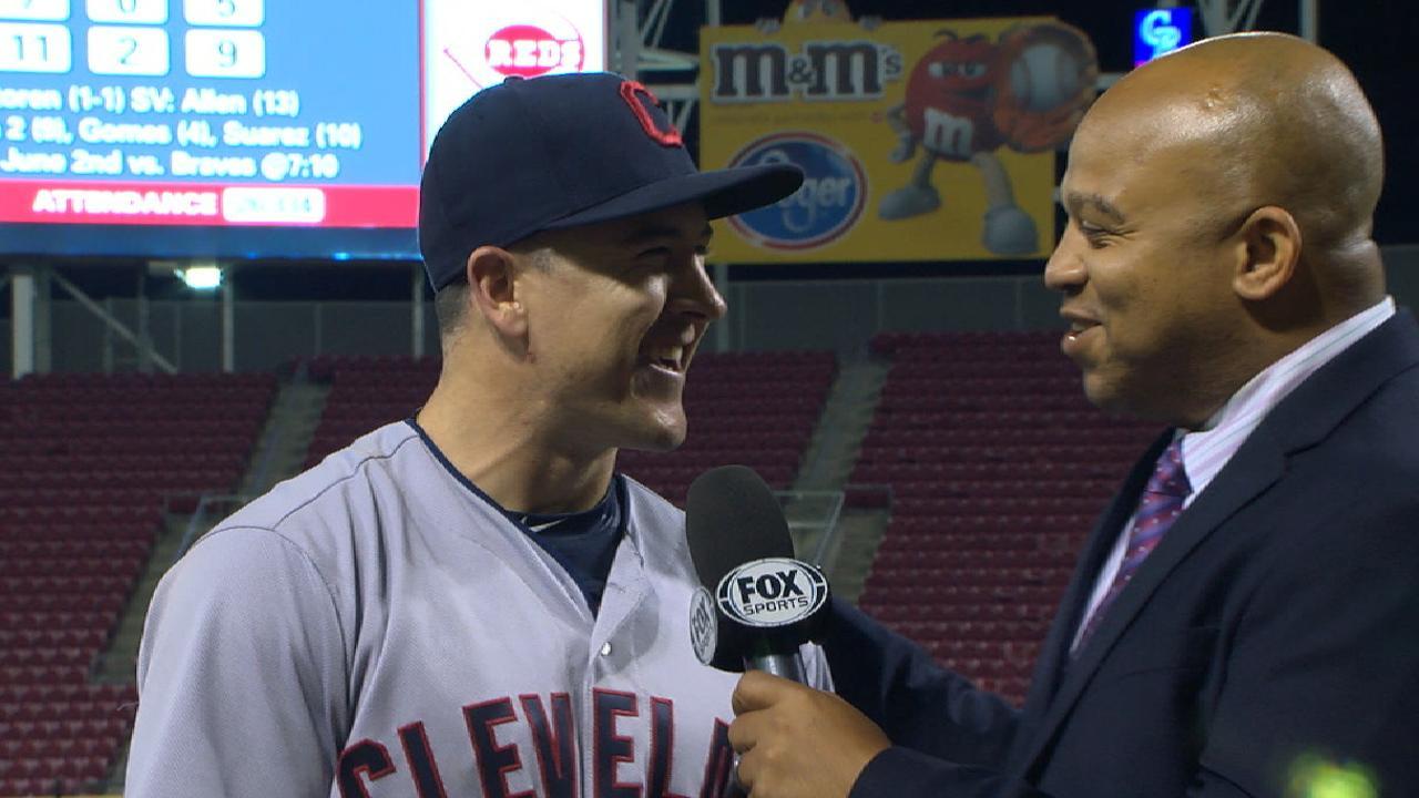 Robertson discusses win