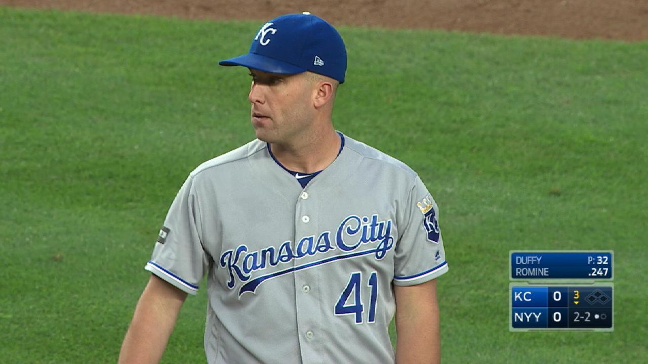 Duffy K's seven vs. Yankees