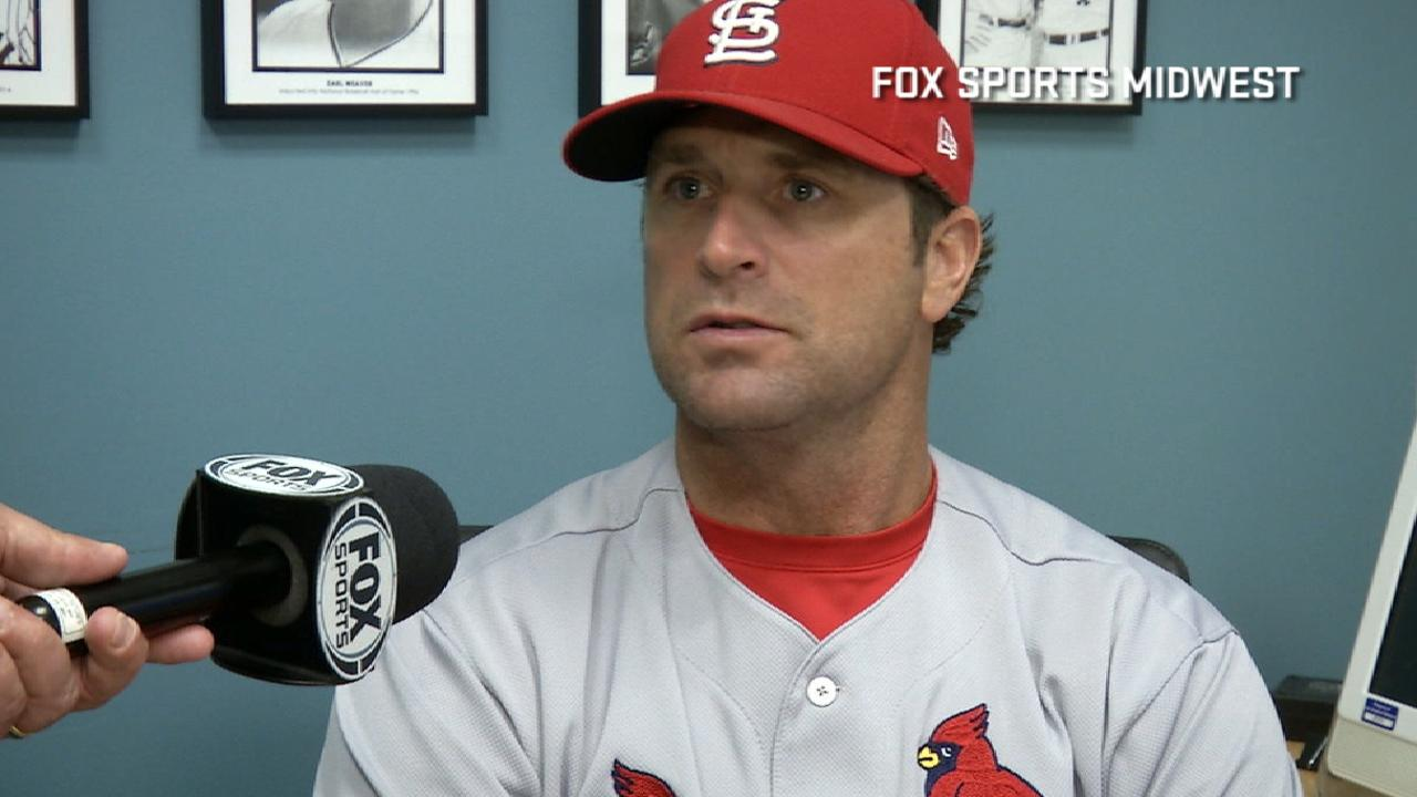 Matheny on Lynn's outing in loss