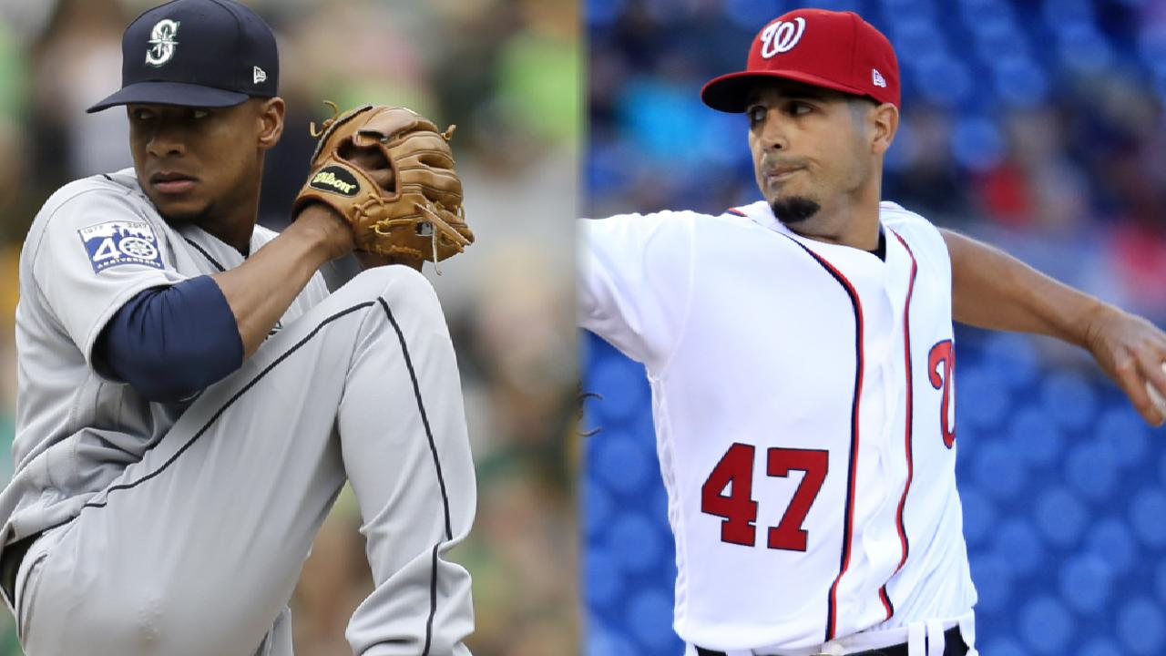 Nats, Gio look to finish off M's in early start