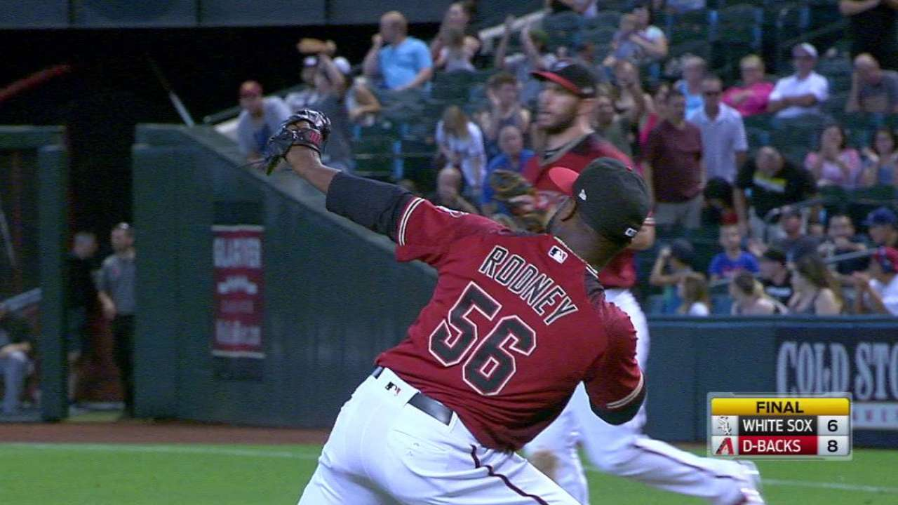 Road work ahead for D-backs