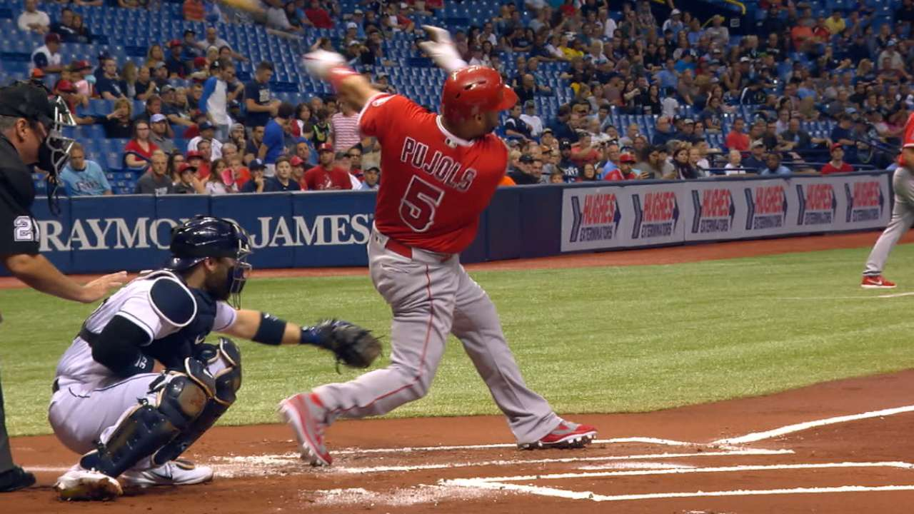 Pujols' 597th career homer
