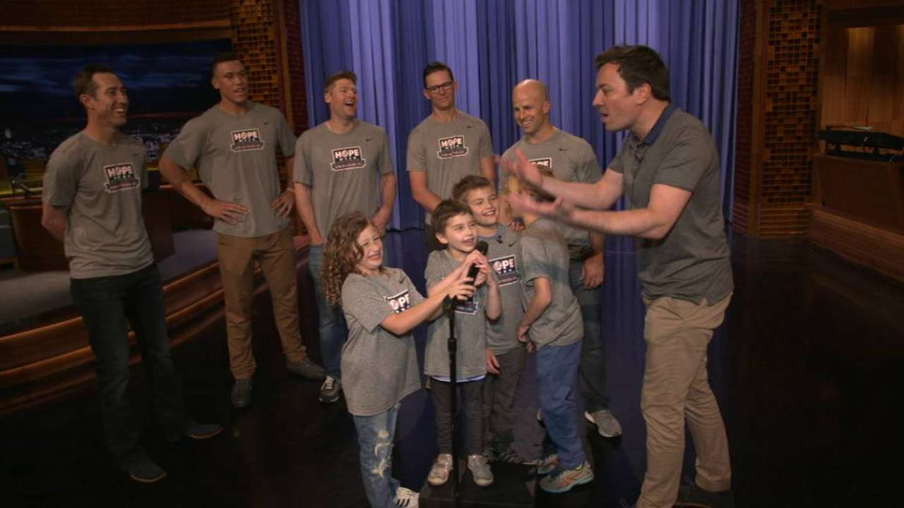 Yanks enjoy comedy relief with talented kids