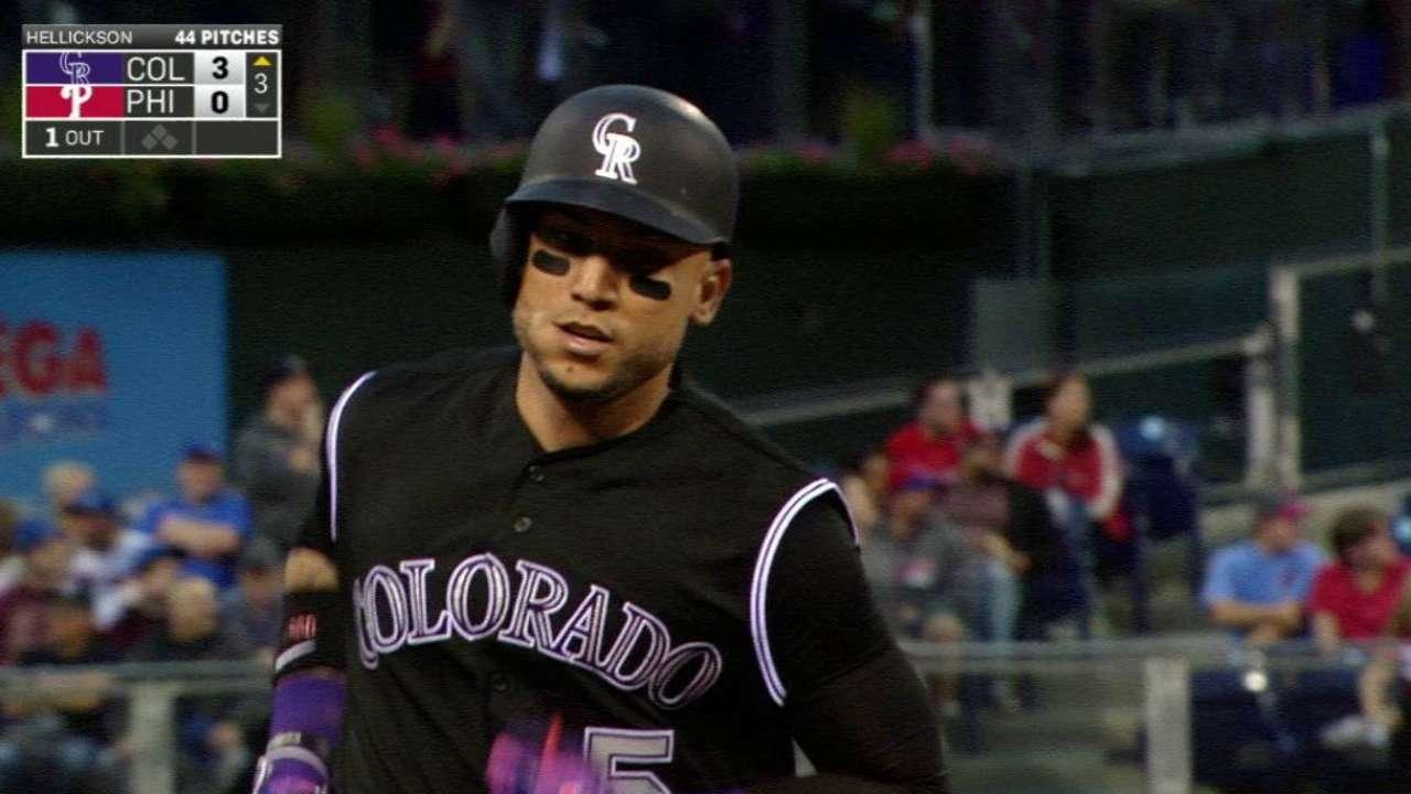 CarGo's three-run home run