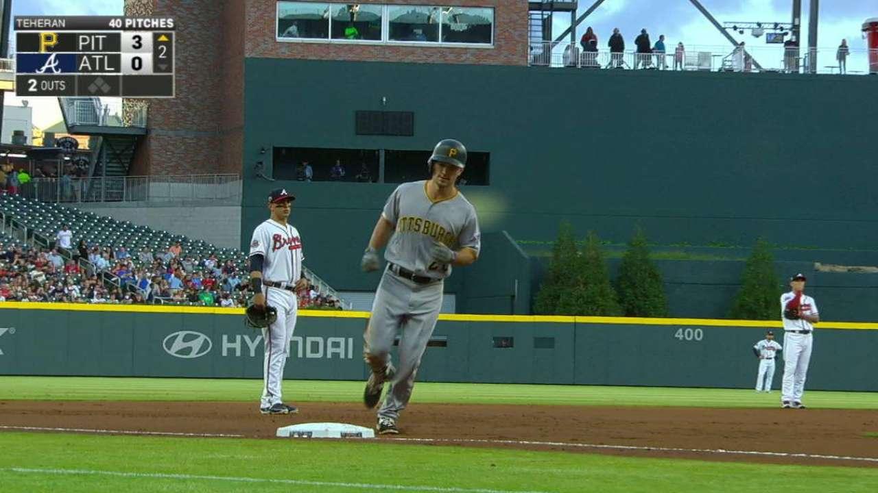 Frazier's three-run home run