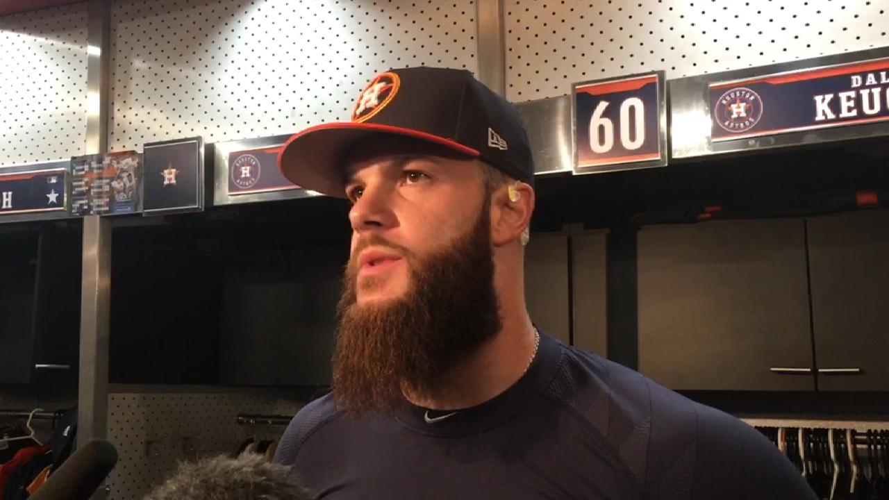 Keuchel itching to come off disabled list