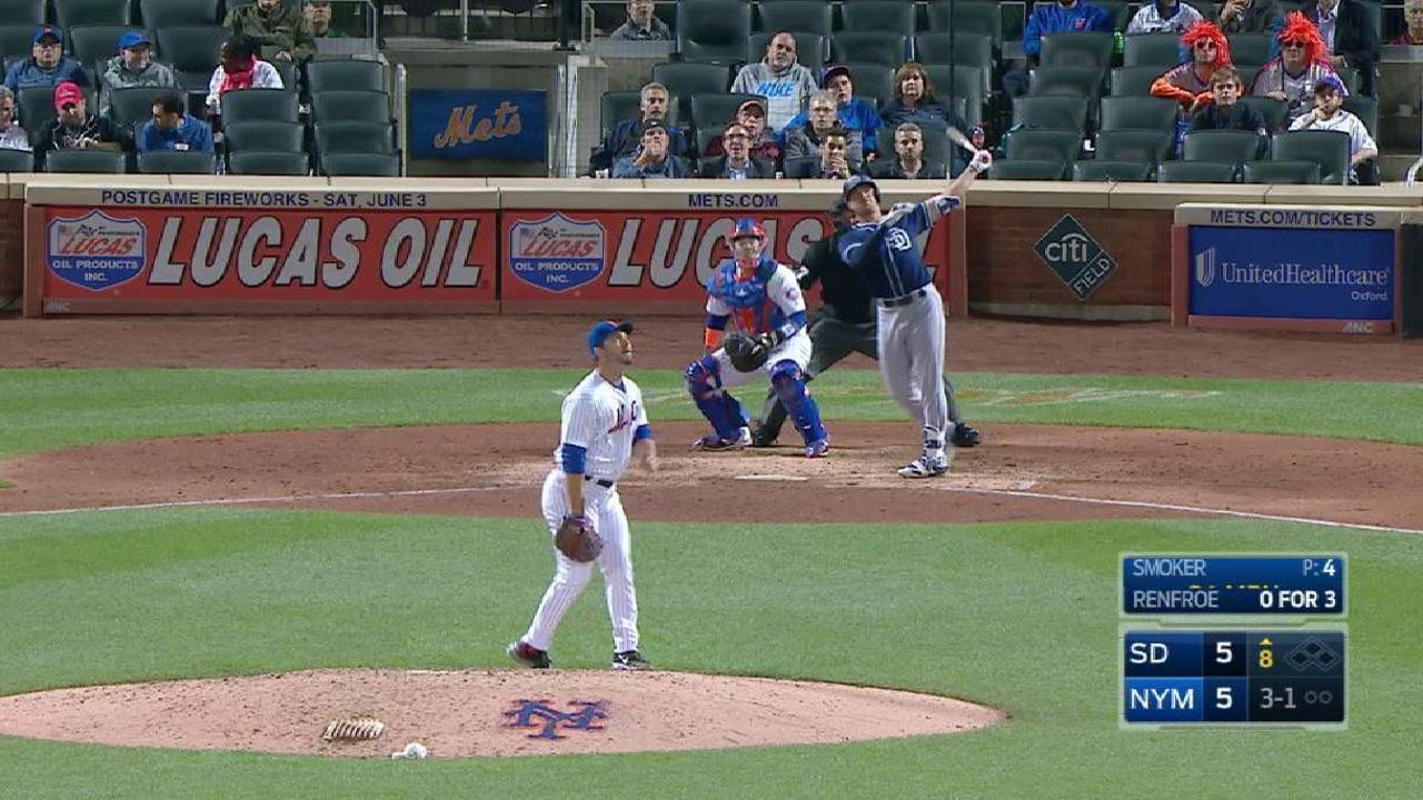 Renfroe's HR caps Padres' comeback win