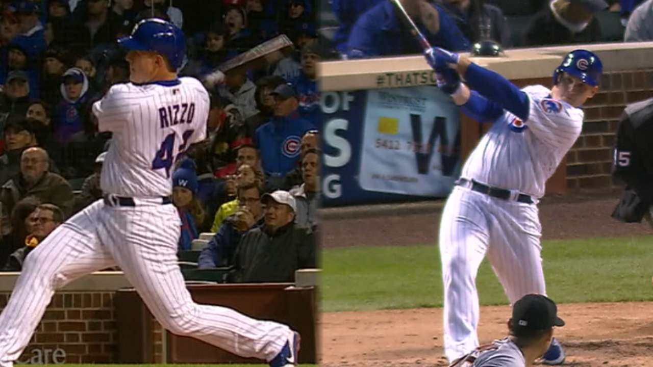 #ASGWorthy Rizzo stays hot with 2 homers