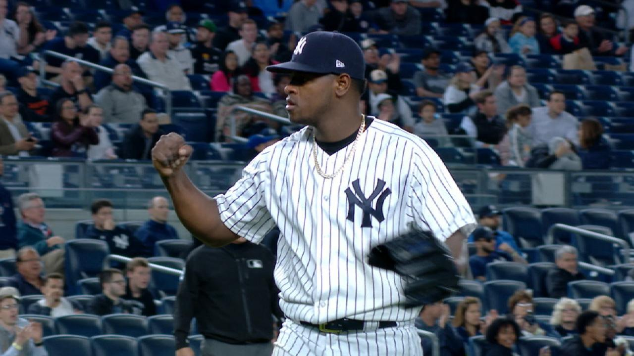 Severino pins down KC with 8 shutout frames