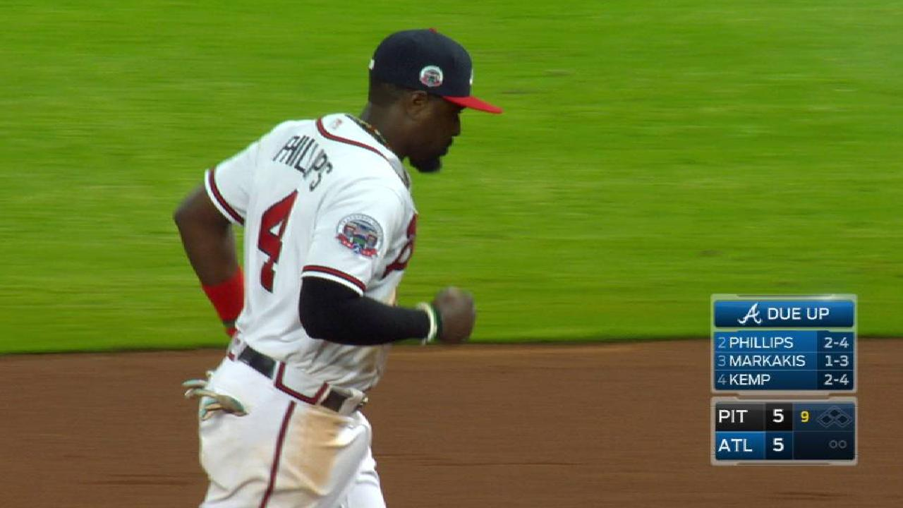 Thin bullpen hurts Braves in 10-inning contest