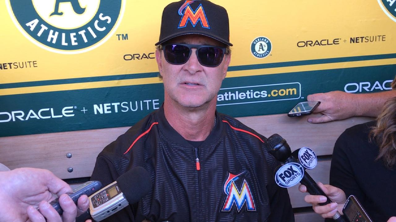 Mattingly on prospect Riddle