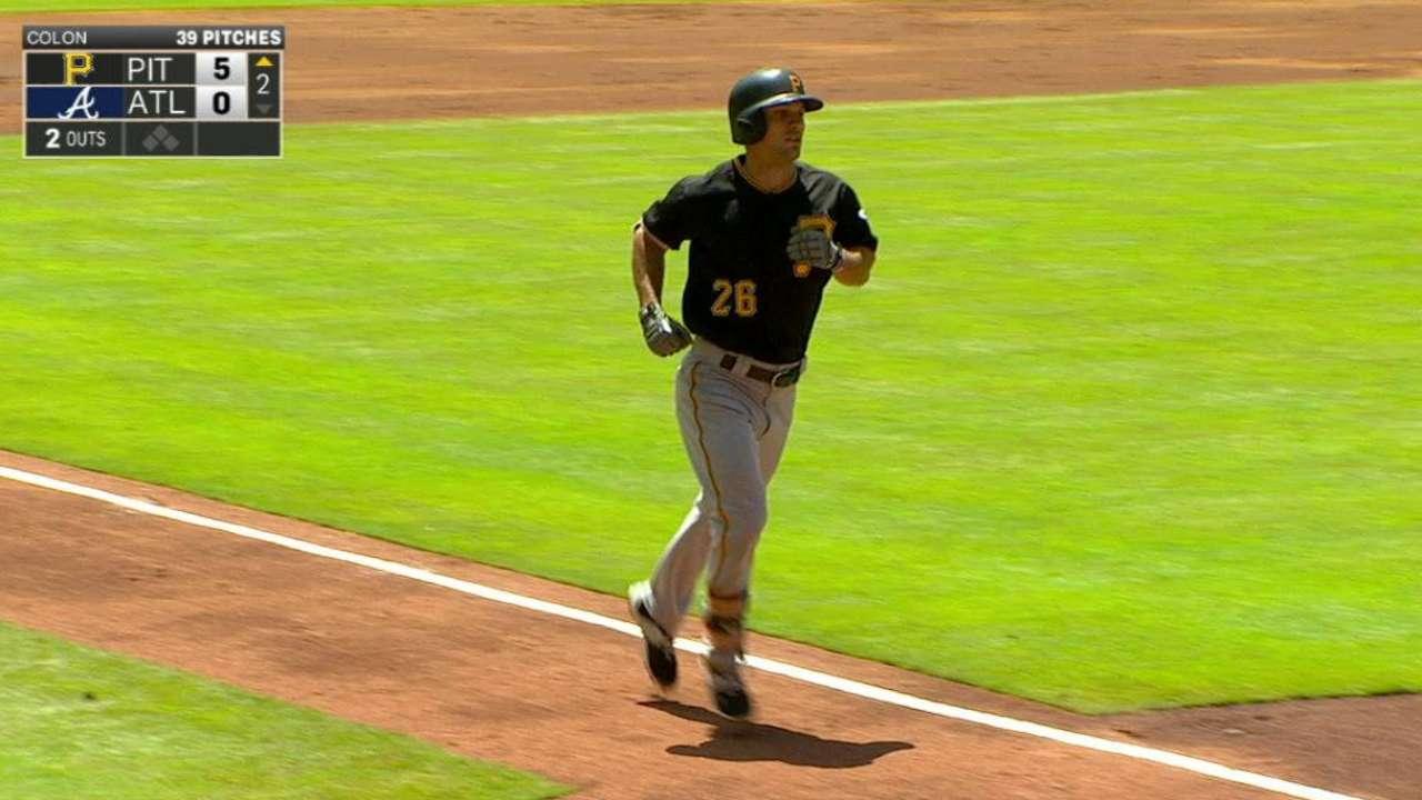 Frazier's three-run smash