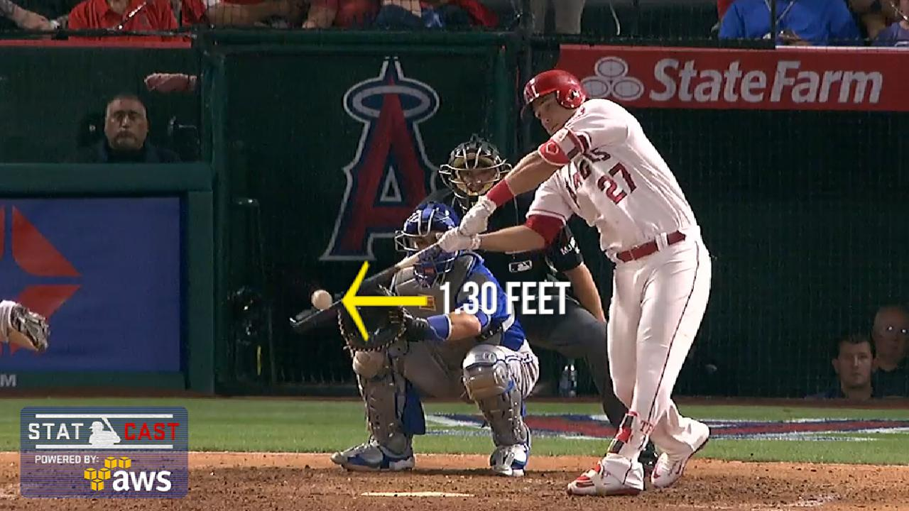 Trout's stunner highlights Statcast's extreme HRs