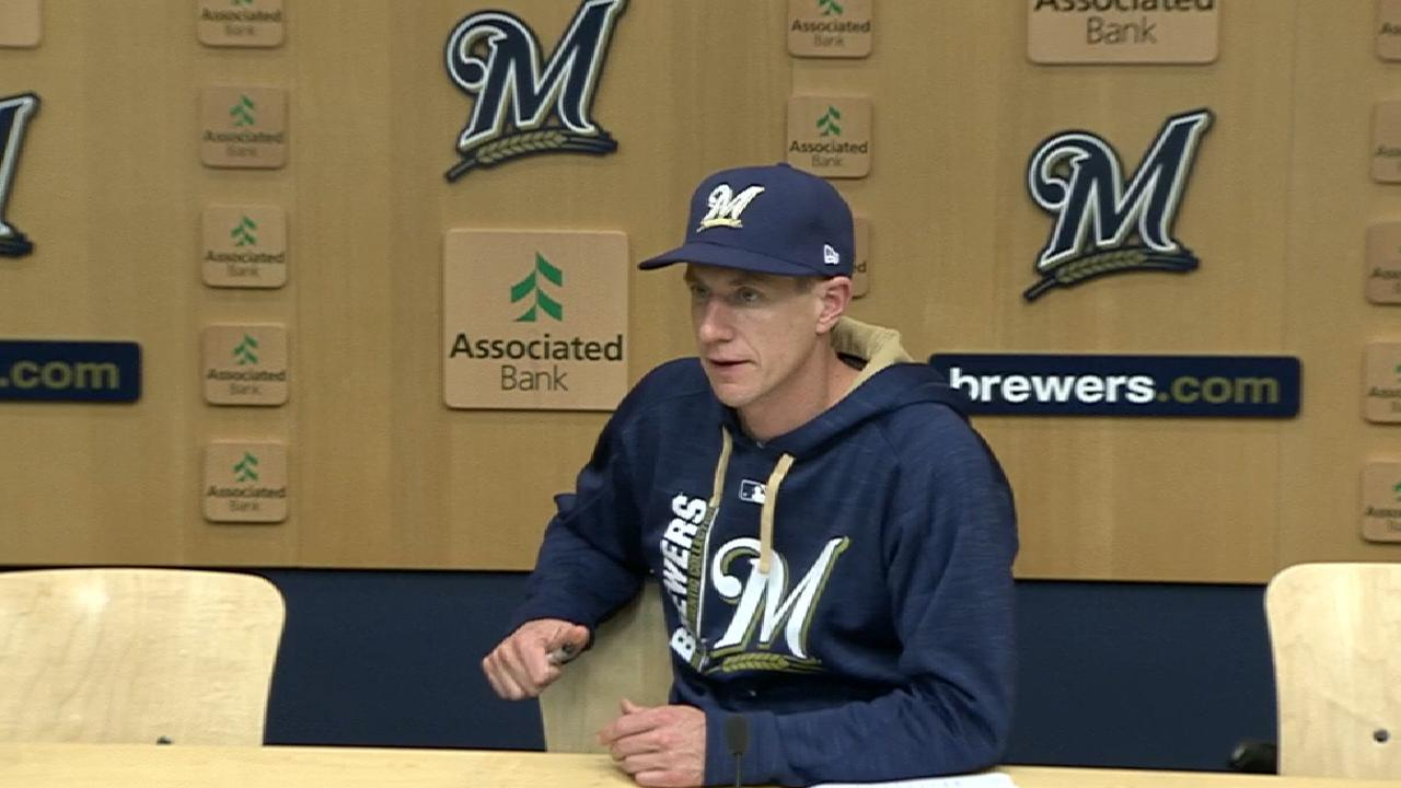 Counsell talks Braun going on DL