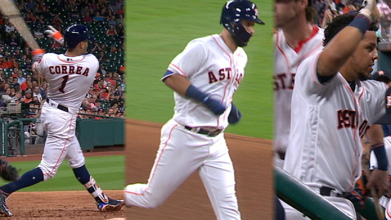 Must C: Astros homer thrice