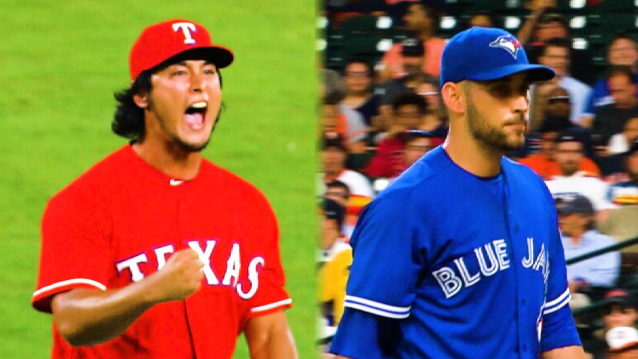 Darvish, Estrada square off on MLB.TV