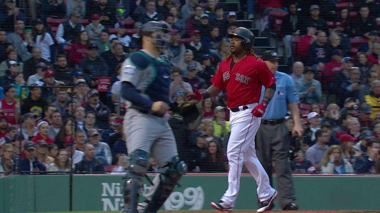 E-Rod, Sox blank Mariners, win 5th straight