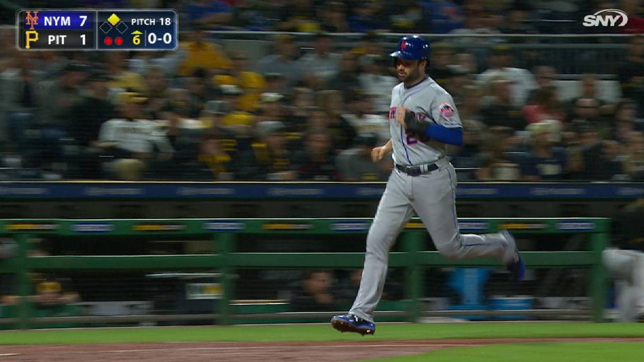Duda's two-run double