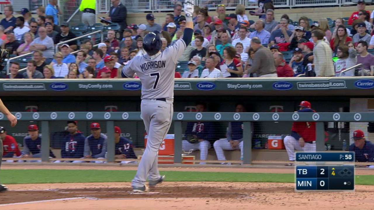 Morrison's two-run homer