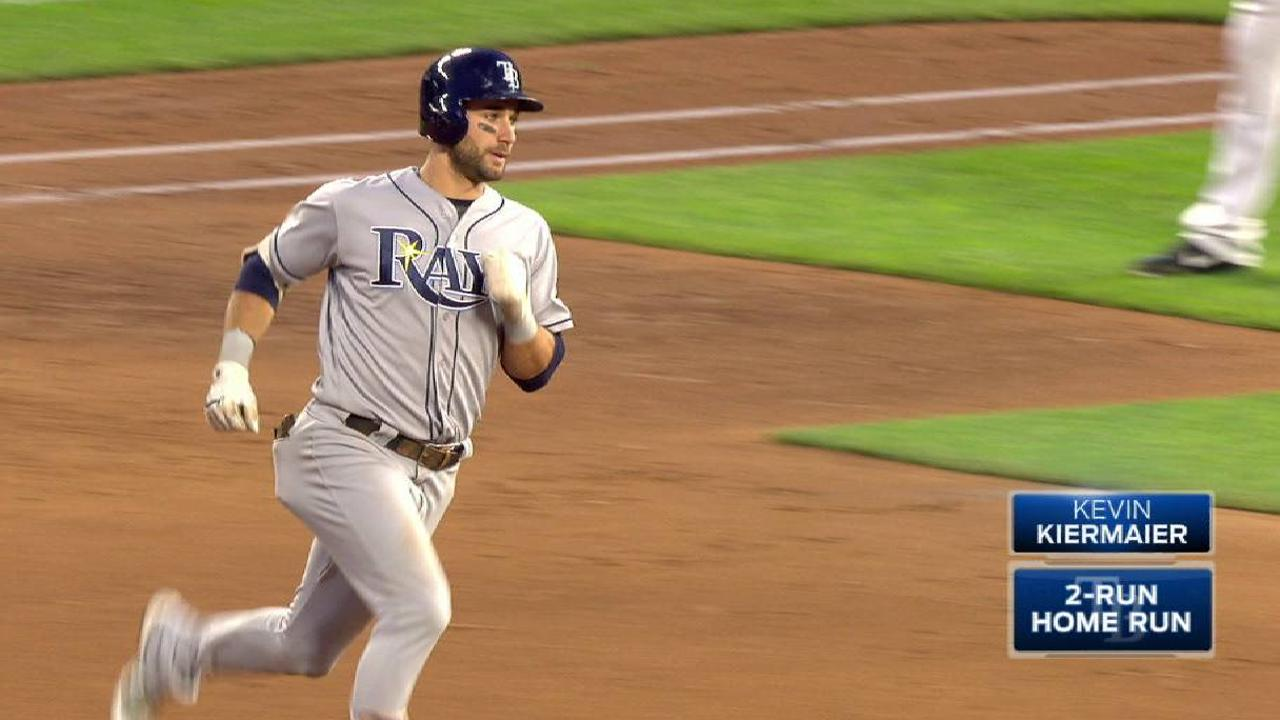 Kiermaier's two-run homer