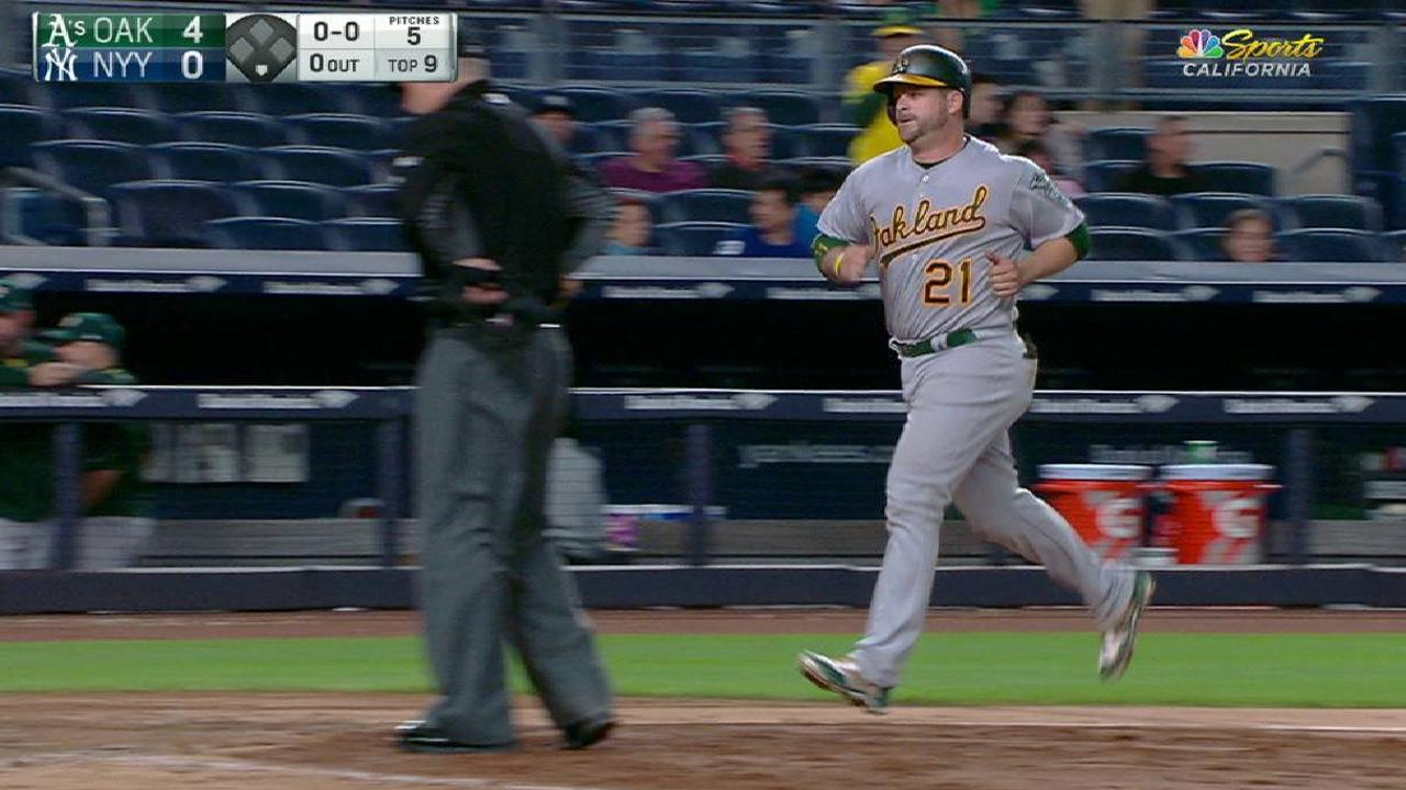 Vogt's two-run home run