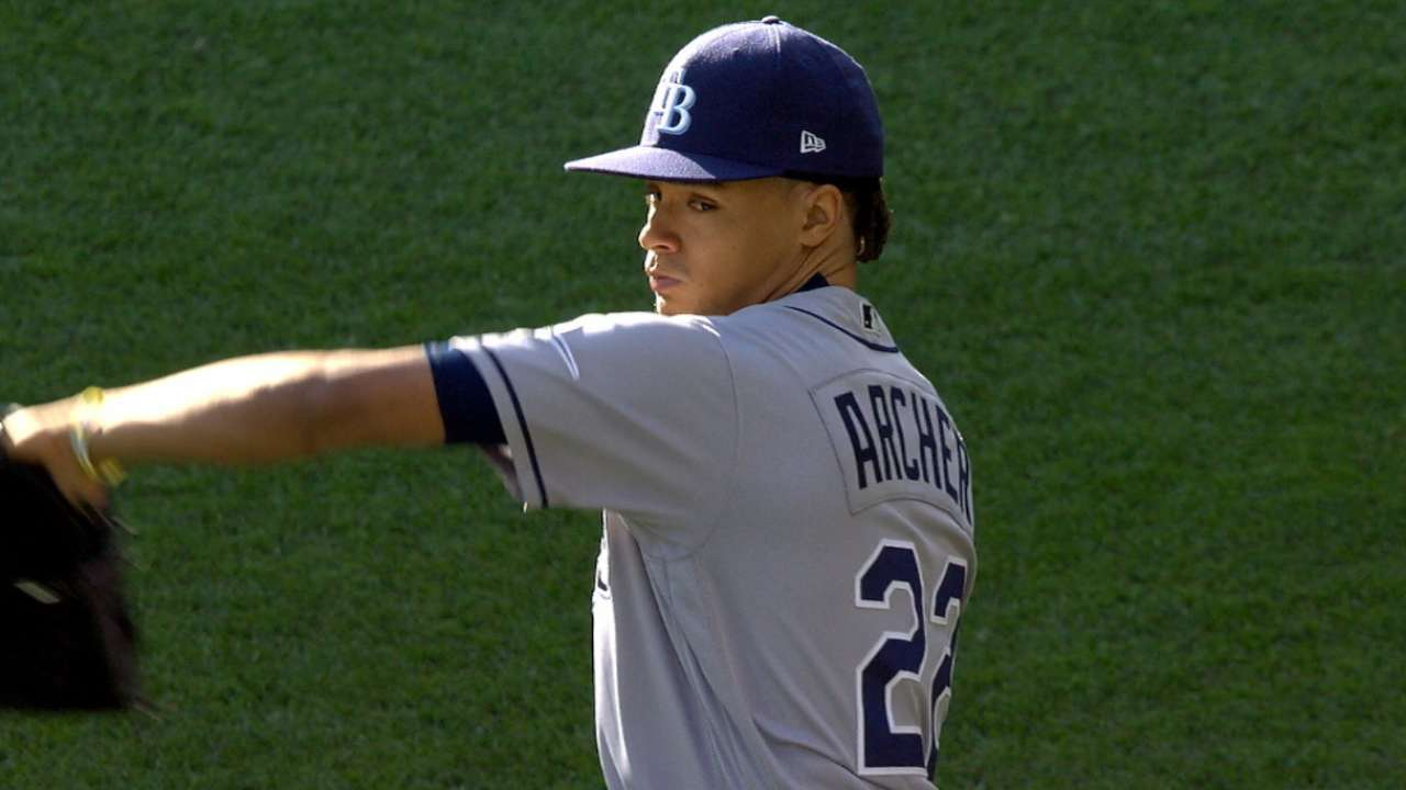 Archer on the mark in victory over Twins