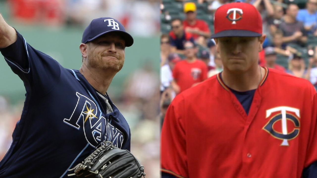 Cobb battles Twins in finale of three-game set