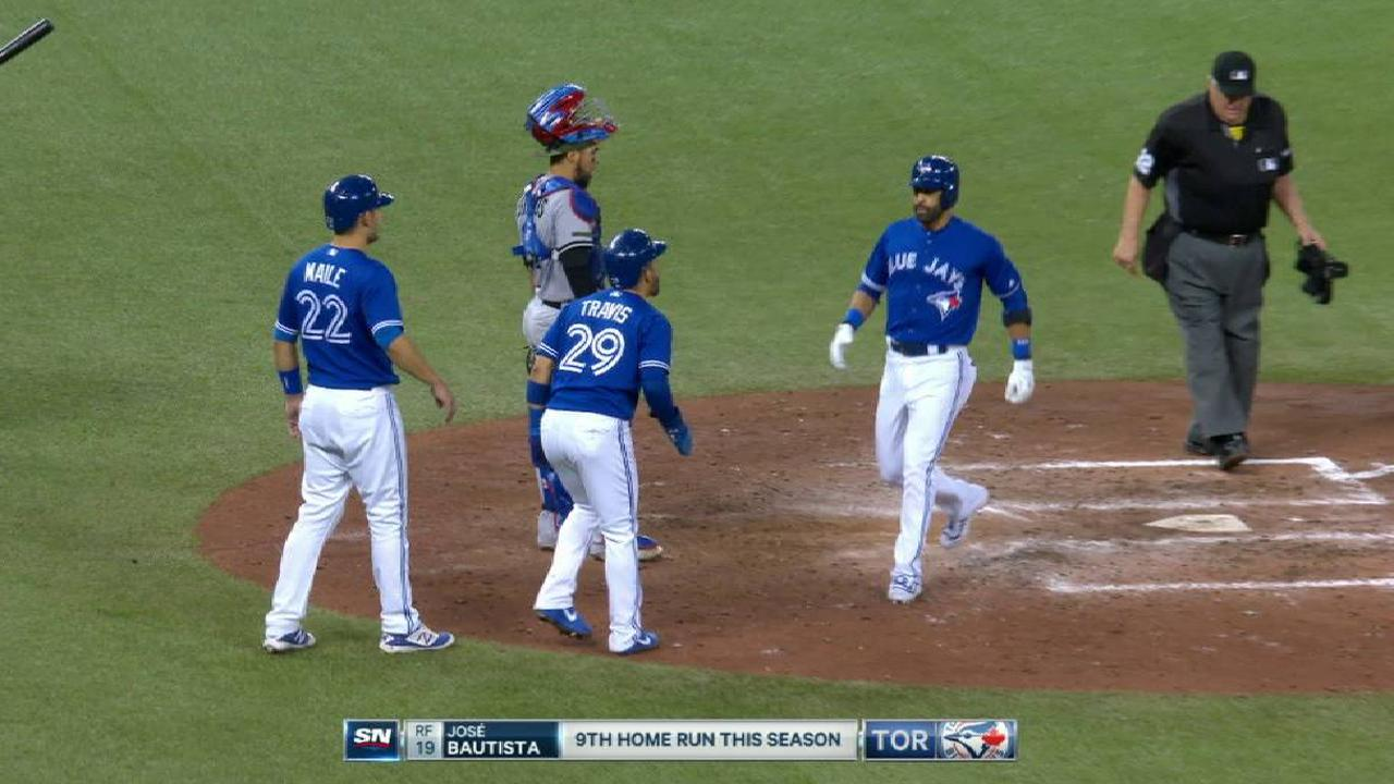 Bautista's three-run dinger