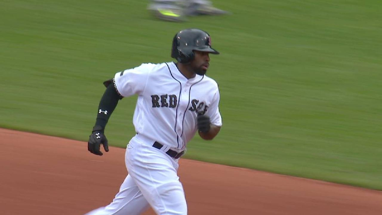 Bradley Jr.'s two-run dinger
